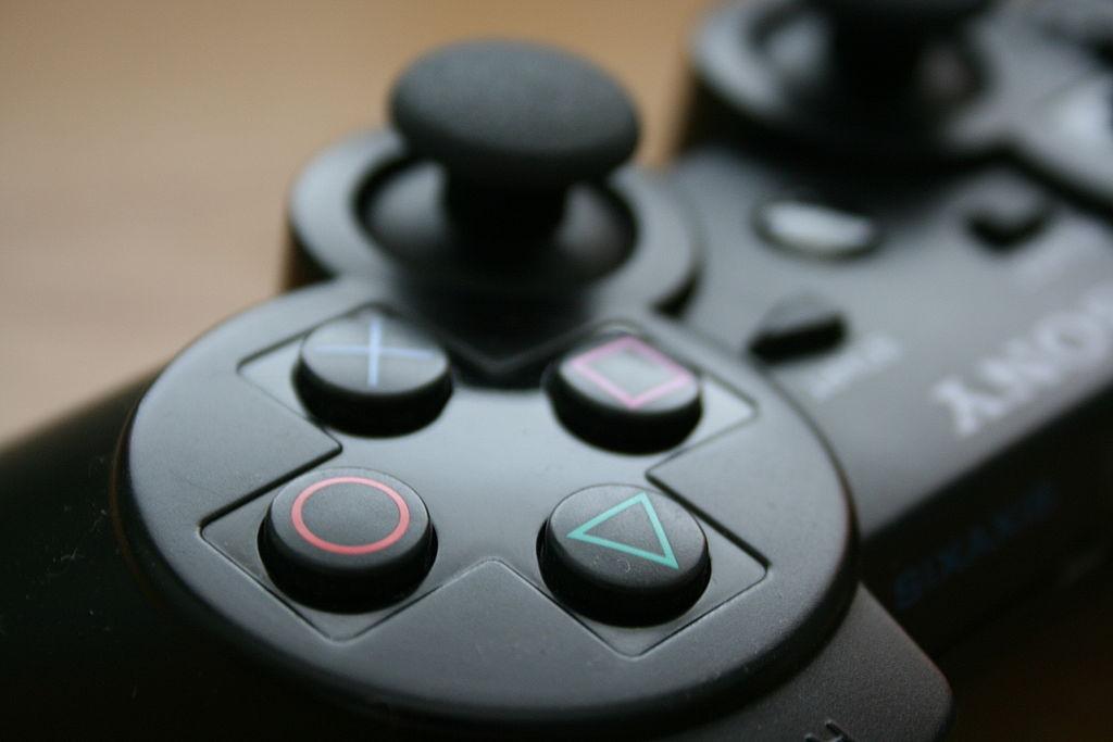 Detalle botones DualShock 3 - Wikimedia Commons